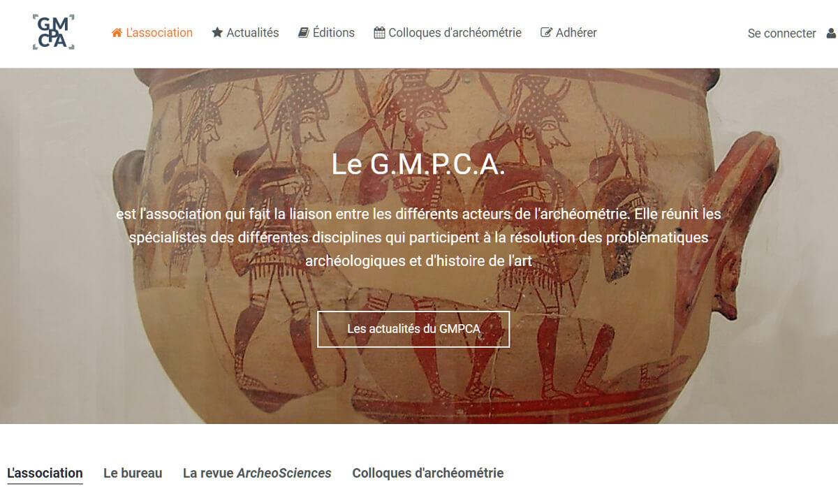 Gmpca-association des professionnels de l'archéométrie